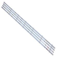 Nouveau 4 pièces/ensemble 7LED 805mm LED bande de rétro éclairage pour Vestel 17DB43H P43d300 LB43007 17DLB43VLXR1 VES430UNDL 2D N12 VES430UNDA 2D N12