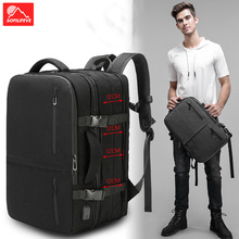 купить Expandable Large Travel Backpack Men Hiking USB Laptop Backpack Male Women Luggage Travel Bag Rucksack School Climbing Bag дешево