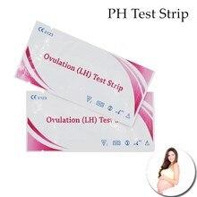 10 шт. бытовой тест на беременность LH Тест PH Тест полосы индикатор воды слюны и мочи тест ing измерение беременности 30% скидка