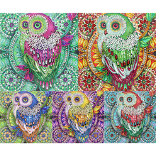 Mosaic-Craft-Kit Diamond-Painting Special-Shaped Cross-Stitch Rhinestone Home-Decor Embroider