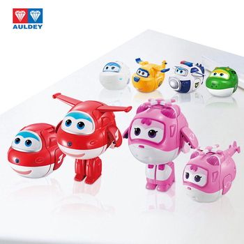 AULDEY Super Wings12 style twisted toy blind box toy deformation robot Ledi and Xiaoai give children Christmas gifts image