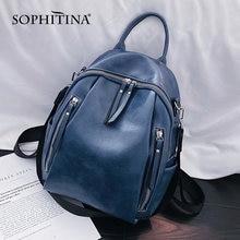 Женский рюкзак на молнии sophitina многофункциональный водонепроницаемый