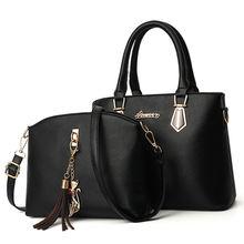 Новинка 2021 Модная Портативная сумка мессенджер из двух предметов