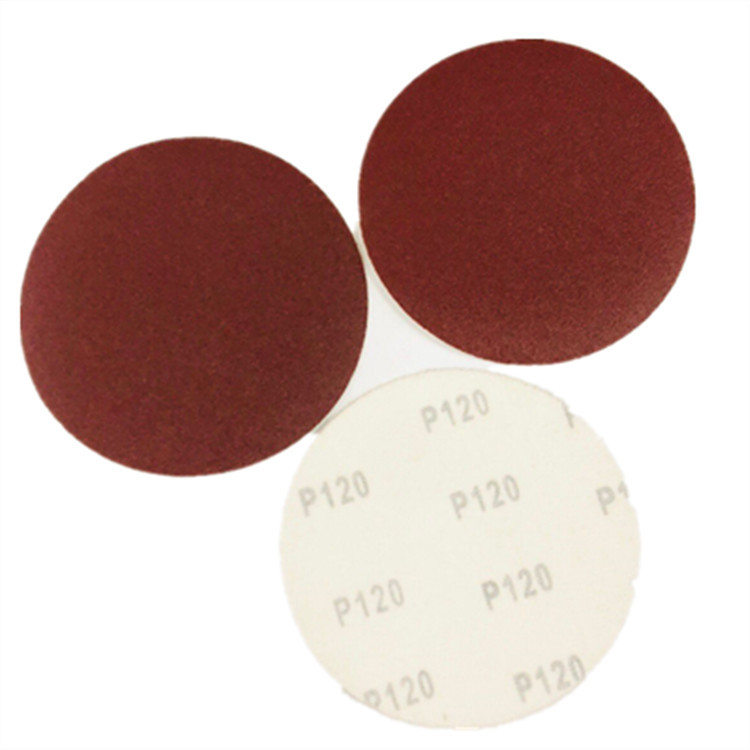 Lucky Day's 5-Inch Flocked Sandpaper 125 Size Disc Sandpaper Polishing Sandpaper SNAD Paper Disk 40 #-2000 #