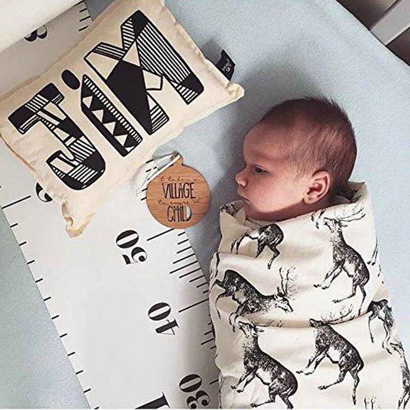 Kids Decorative Growth Charts Height Ruler Size Baby Care Removable Scale Measure For Kid Gift   Baby Child