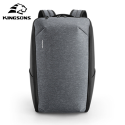 kingsons multifunctional business travel laptop men backpack simple style waterproof anti-theft for teenagers high quality bag