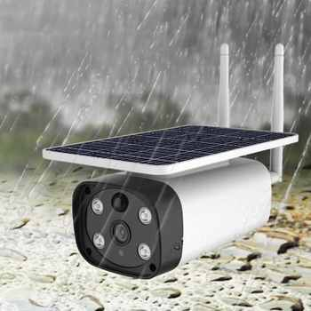 Night Vision Full Color Starlight 4G Wireless Solar Charging Battery Monitoring Camera Mobile Phone Remote Solar Camera