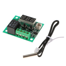 W1209 -50℃ to +110℃ DC 12V Micro Digital Thermostat Temp Control Sensor Module(China)
