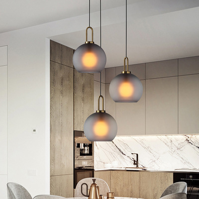 Modern Glass Pendant Light Nordic Dining Room Kitchen Light Designer Hanging Lamps Avize Lustre Lighting Ing Hanglamp