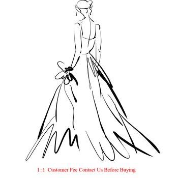 Custom made prom dress wedding dress DHL
