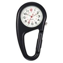 Карманные часы с карабином для медсестры медицинские спортивные