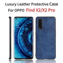 Leather Case For OPPO Find X2 Pro case OPPO Find X2 case cover OPPO Find X2 Pro flip cover case funda