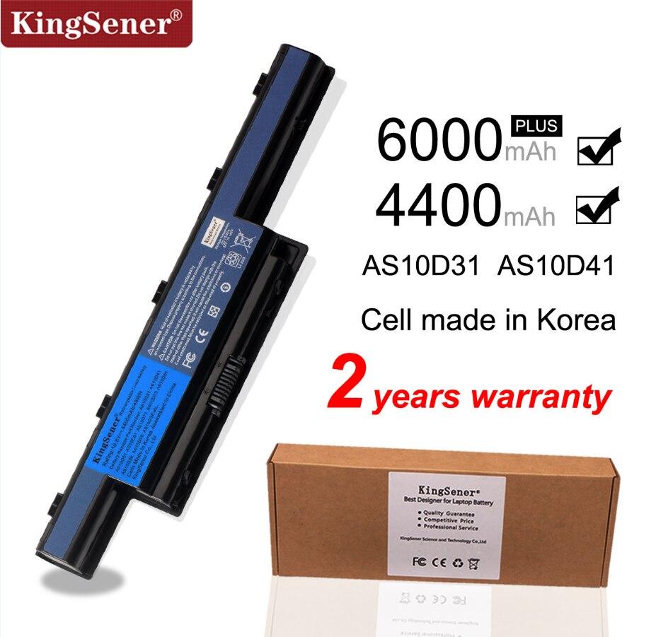 Аккумулятор KingSener AS10D31 для ноутбука Acer 5742, 4551G, 4741G, 5560G, 5741G, 5742G, 5750G, 7750G, 7760G, AS10D51, AS10D71, AS10D81, AS10D73