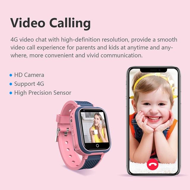 LT21 4G Smart Watch Kids GPS WIFI Video Call SOS IP67 Waterproof Child Smartwatch Camera Monitor Tracker Location Phone Watch 3