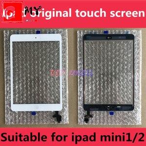 Original for OEM iPad Mini 1 Screen iPad Mini 2 Touch Screen A1432 A1454 A1455 A1489 A1490 A1491 Digitizer IC Cable Home Button(China)