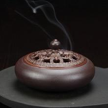 Vintage incense burner ceramic incense burner antique line incense burner simple and beautiful c hong yizhai chen incense incense burners stove ceramic antique incense burner incense ornaments lotus