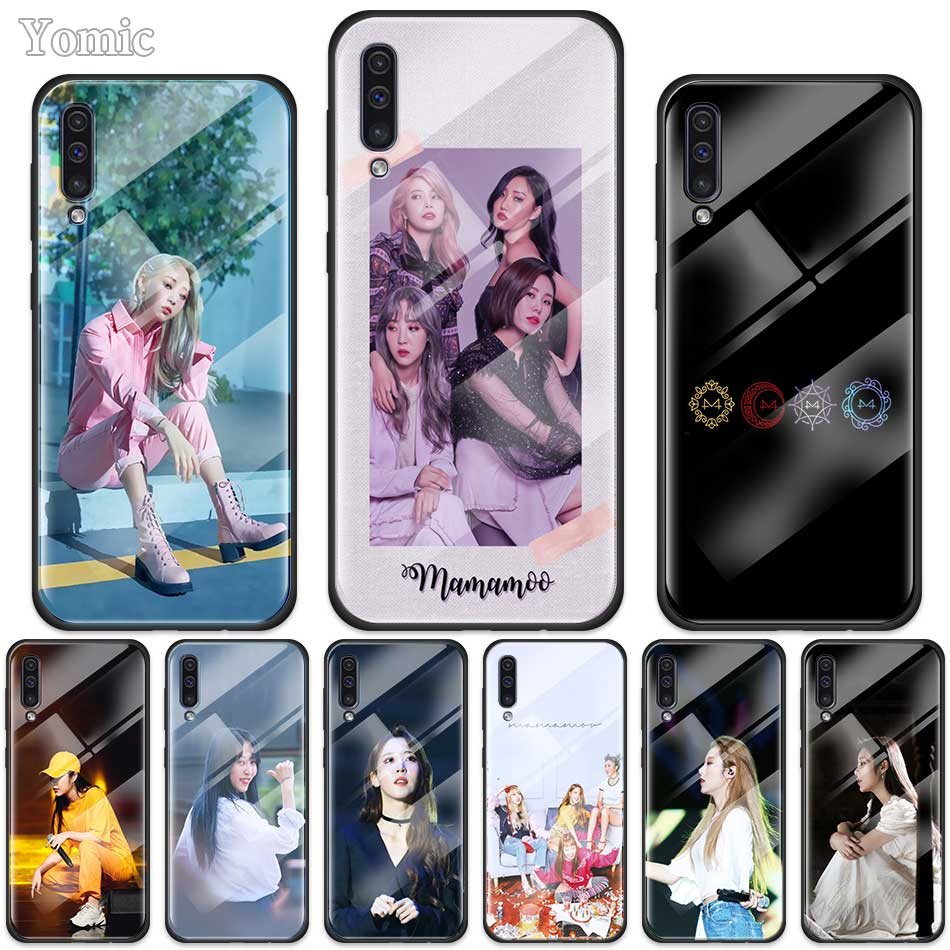 <font><b>Kpop</b></font> Music MAMAMOO Case for <font><b>Samsung</b></font> Galaxy A50 A70 A10 A20 A30 S J4 <font><b>J6</b></font> <font><b>Plus</b></font> M30s Tempered Glass Phone Cover Soft Edge <font><b>Coque</b></font> image