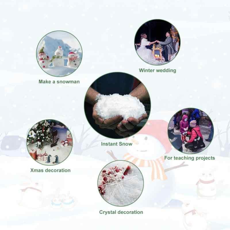 Polvere di neve Magia Prop Festa Di Natale Della Decorazione Del Partito Congelato Artificiale Falso Neve TSLM2 Istante Decorazioni Natalizie Festival Fiocchi di Neve Nuovo