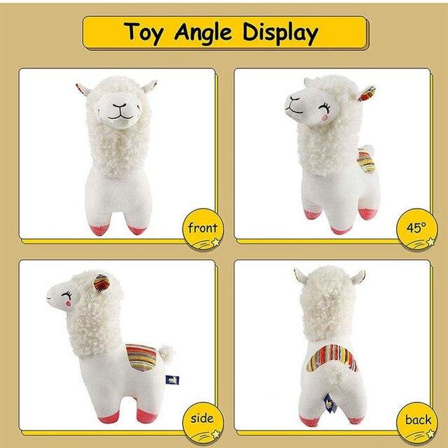 25 см 45 kawaii альпака лама плюшевые игрушки животные мягкие фотография