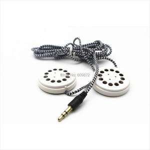 Image 2 - Linhuipad Pillow & Hat Dual Speakers Braided Earbud Headphones Flat Headband Earphones 3.5mm stereo plug