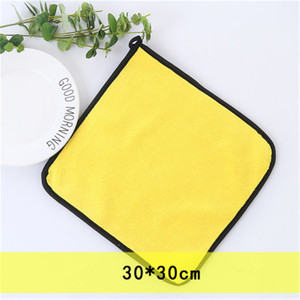Image 2 - 20 pcs 600gsm Car Wash Microfiber Towels Super Thick Car Cleaning Cloth For Washing Drying Absorb Wax Polishing 30x30cm