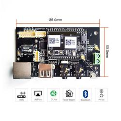 Up2Stream Pro WiFi и Bluetooth 5,0 HiFi аудио приемник плата с spotify airplay dlna Интернет-радио и потоковой музыки.