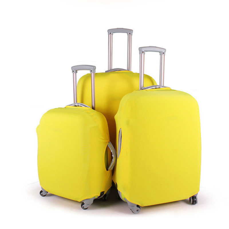 Stretch Fabric Suitcase Cover Travel Luggage Cover Dust Cover For 18 To 30 Inch Dustproof And Scratch Resistant