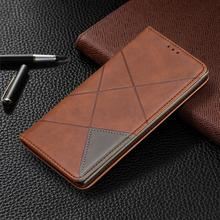 Magnetic Flip Leather Phone Case For Samsung Galaxy Note10 Vintage Wallet Card Holder Slot Back Cover Note10Pro Coque
