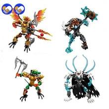 Игрушка мечты, совместимая с Legoinglys CHIMAed, набор конструкторных блоков, набор супергероев, модель, набор самурайских обучающих игрушек