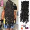 YunRong Nu Locs Crochet Hair 36 24 18 Inches Faux Locs Extension Synthetic Soft Goddess Braiding Dreadlocks Hair For Black Women 1