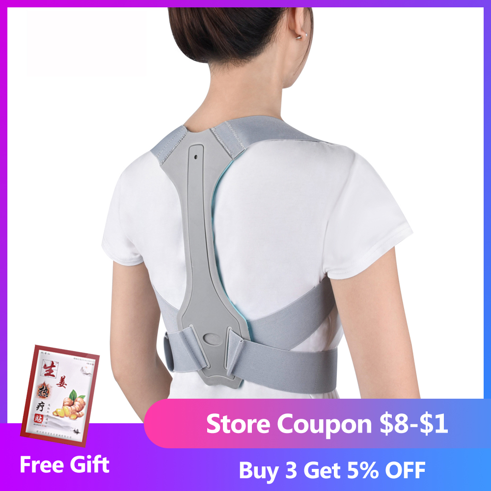 Posture Corrector Belt with 10 Highly Energetic Magnets and Adjustable Waist Straps Helps to Relief and Provides Support to Spine and Shoulder 1