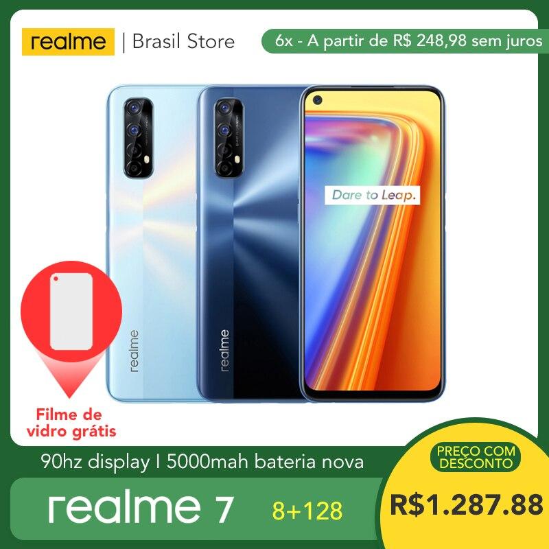 Realme 7 8 ГБ ОЗУ 128 Гб ПЗУ-30 Вт зарядка | 48 МП четырехъядерная камера | 90 Гц дисплей helio g95 игровой процессор | Батарея 5000 мАч