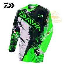 2020 Daiwa Clothing Summer Sports Fishing Tshirt Breathable Outdoor Running Breathable Anti-uv Fishing T-shirt Cycling Men Top(China)