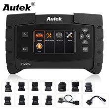 وسادة هوائية لنظام كامل احترافي من Autek ifix 969 Obd2 مع وسادة هوائية ABS EPB DPF أداة تشخيص السيارات مزودة بماسح ضوئي Obd 2