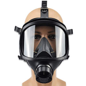 Gas-Mask Respirator Chemical Contamination And Classic Radioactive Self-Priming Biological