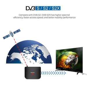 Image 3 - Mecool M8S PLUS Android 9,0 DVB T2 Hybridtv TV caja Amlogic S905X2 Quad Core 64bit 2GB 16GB 4K 60fps DVB T2 terrestre Combo
