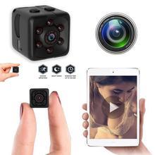 SQ11 мини-камера 1080P Sence Автомобильный видеорегистратор для домашней безопасности видеокамера ночного видения Спортивная маленькая камера dvr Запись Поддержка TF карта