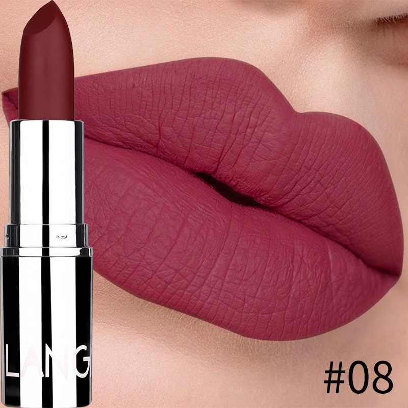 8 farben Samt Lip Stick Matte Lippenstift Make-Up Kit Professionelle Rouge Wasserdichte Langlebige Lip Stick Kosmetik Schönheit Lippen