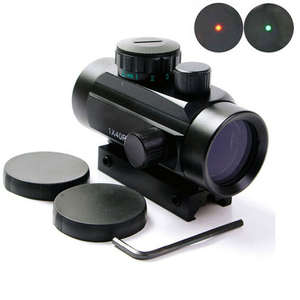 1X40 Tactical Holographic Sight Red Dot Sight Crosshair Red Dot Scope for 11mm 20mm Picatinny Rail Mount Green Dot Sight