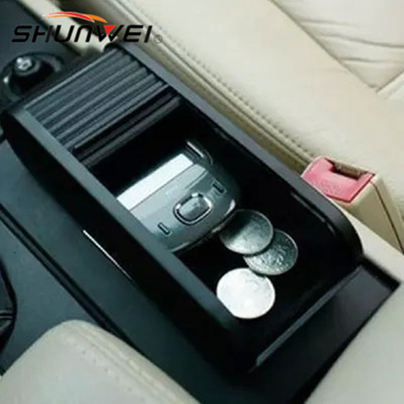 Multi-function Sliding door storage box Dashboard Storage box car organizer suitable for coins,small objects,mobile phones etc.(China)