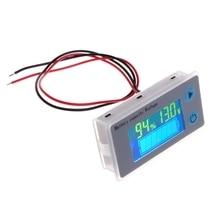 2020 yeni pil kapasitesi göstergesi voltaj monitörü 10 100V evrensel pil kapasitesi voltmetre test cihazı LCD araba kurşun asit göstergesi