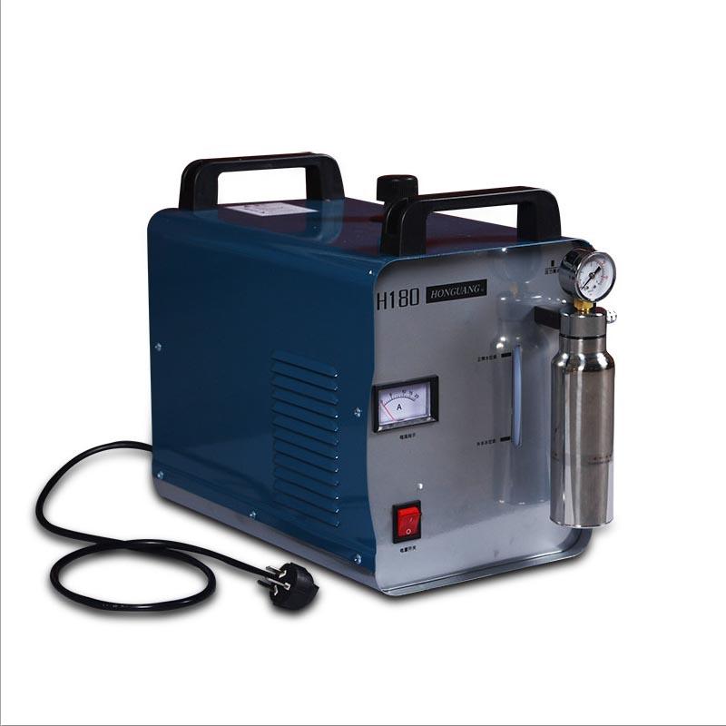 Hongguang H180 Tragbare Sauerstoff Wasserstoff Flamme Generator Acryl Polieren Maschine, 95L 1 Gas Fackel freies