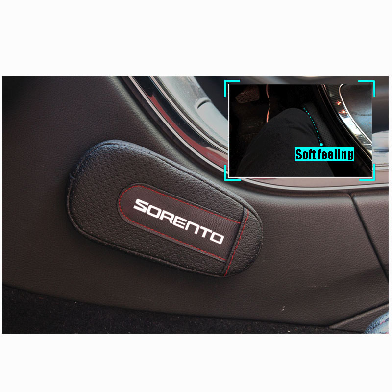 Stylish and comfortable Leg Cushion Knee Pad Armrest pad Interior Car Accessories For Kia Sorento