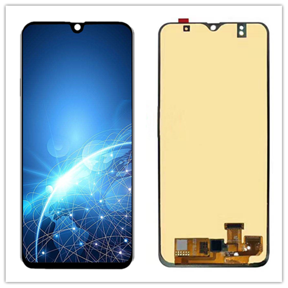 6.4 Inch Display screen For <font><b>Samsung</b></font> <font><b>Galaxy</b></font> <font><b>A20</b></font> A205 SM-A205F <font><b>LCD</b></font> Display and Touch Screen Digitizer Assembly Replacement Parts image