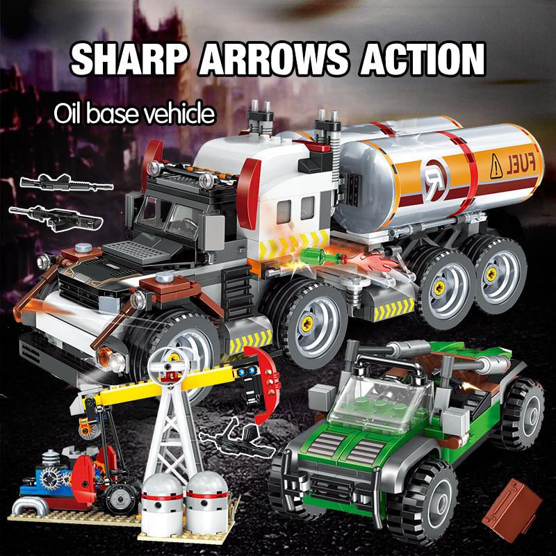 Winner Technical Series Car Model Building Blocks