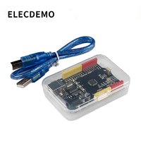 Development board compatible with arduino UNO R3 (CH340G) new version improved version ch340 serial port