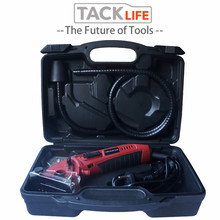 TACKLIFE Mini Cutting Machine Woodworking Electric Circular Saw Portable Multi-Function Hand-Held Chainsaw Cutting Wood Machine