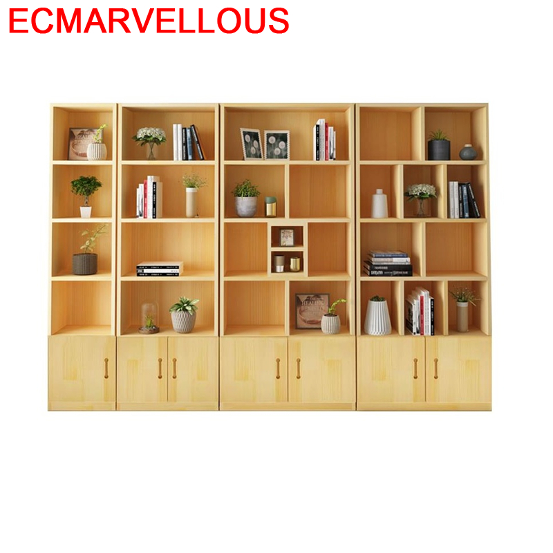 Libreria Mobilya Boekenkast Kids Cabinet Wall Shelf Mueble Decor Madera Home Wood Book Retro Decoration Furniture Bookshelf Case