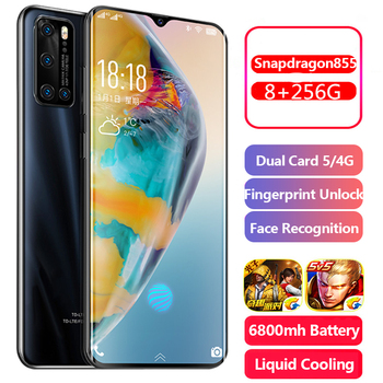 S20 U Android 6.7inch Smartphone Cellphone Dual SIM Mobile Phone Cell Smart Phones Face Unlock Handset Global Version