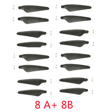 Hubsan Zino / ZINO Pro / ZINO 2 Drone Propellers Blades 8A+8B H117s Quadcopter Spare Parts Accessories